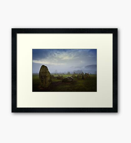 Castlerigg Stone Circle, Cumbria. UK Framed Print