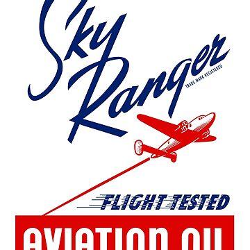Sky Ranger Flight Tested Aviation Oil by dtkindling