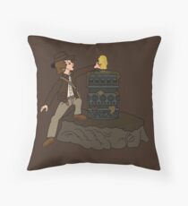 IDOL IN THE STONE Throw Pillow
