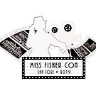 Lights, Camera Action! Reverse Back-Printed for Dark Colors by MissFisherCon