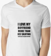 e4e963ee95f8e Ice Skating Girlfriend Funny Valentine Gift Idea For My Gf Lover From  Boyfriend Men s V-