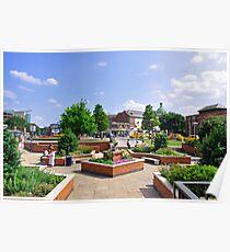 Corporation Street Garden, Derby Poster