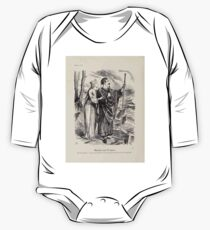 Cartoons by Sir John Tenniel selected from the pages of Punch 1901 0040 Miranda and Prospero One Piece - Long Sleeve