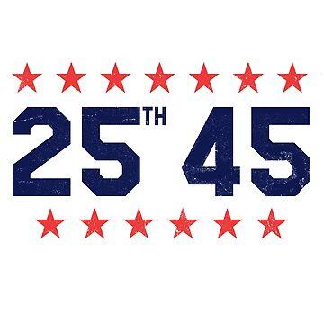 25th 45 | Remove Trump by 8645th