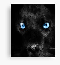 Ghost Cat Canvas Print