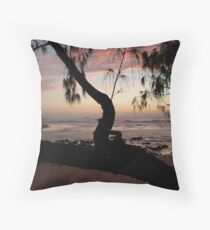 Moonee Sunrise 20th August 09 Throw Pillow