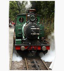 West Coast Wilderness Railway Steam Train Poster