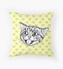 Just Kitten (no text) Throw Pillow