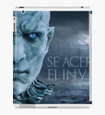 Invierno Viejo iPad Case/Skin