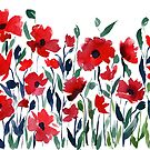 Poppies by Veronica Miller Jamison by Veronica Jamison