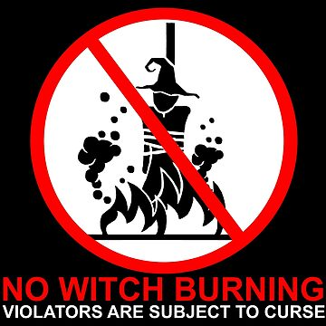 No Witch Burning by SigilSorcery