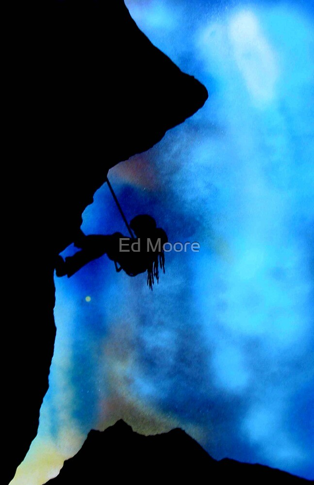 Going Up (original) by Ed Moore