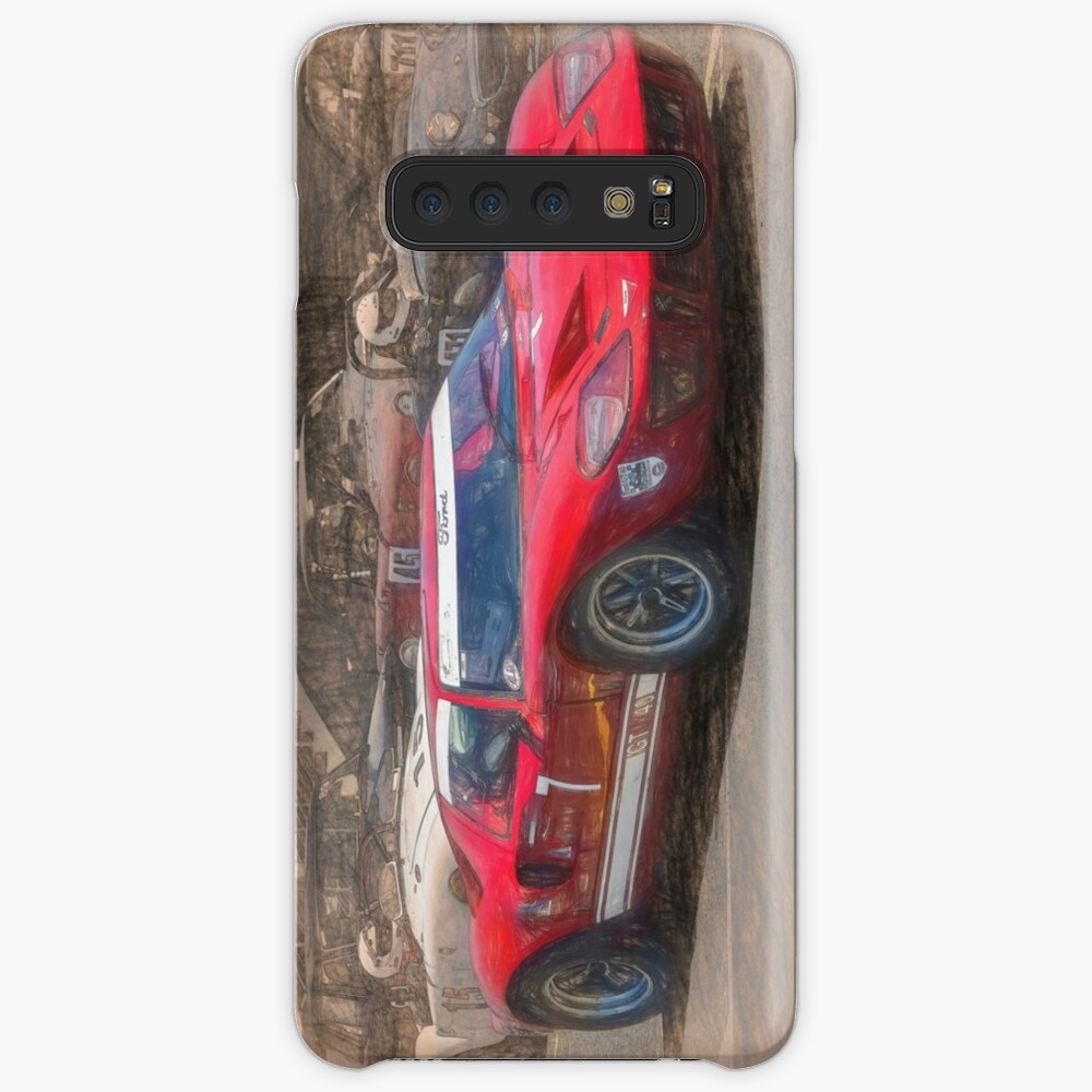 Red GT40 Cases & Skins for Samsung Galaxy