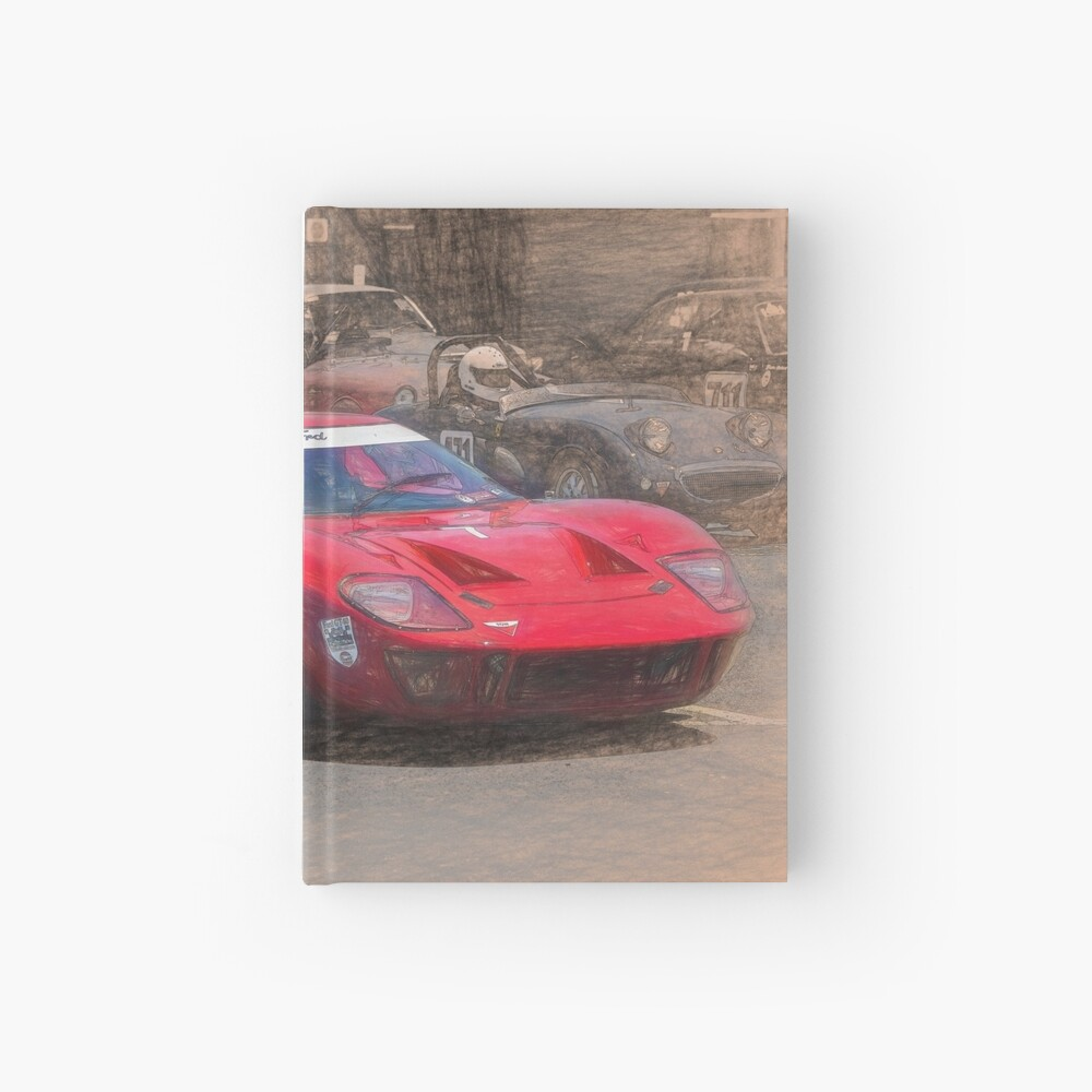 Red GT40 Hardcover Journal