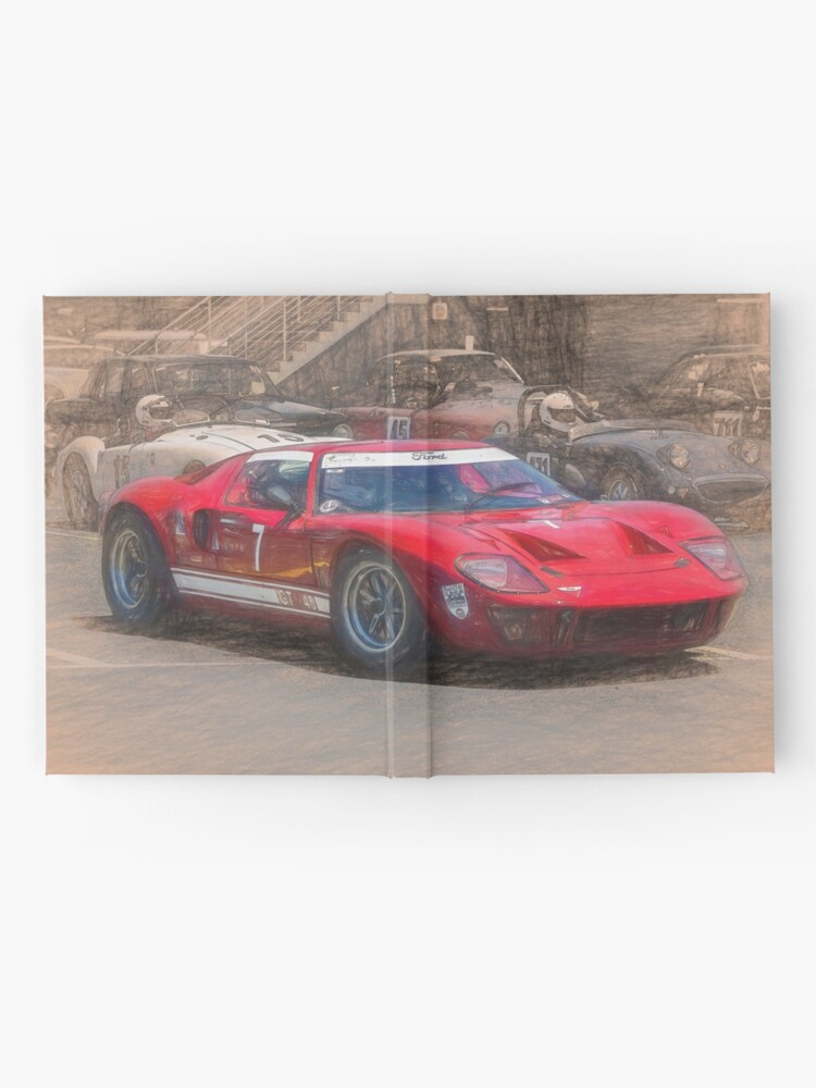 Alternate view of Red GT40 Hardcover Journal