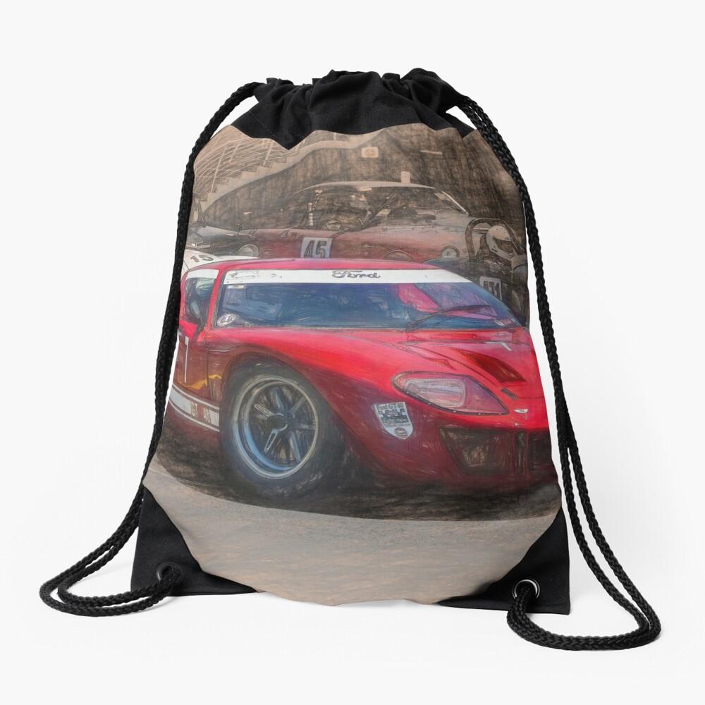 Red GT40 Drawstring Bag