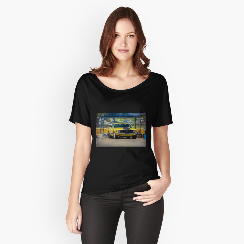 1970 Mustang Relaxed Fit T-Shirt