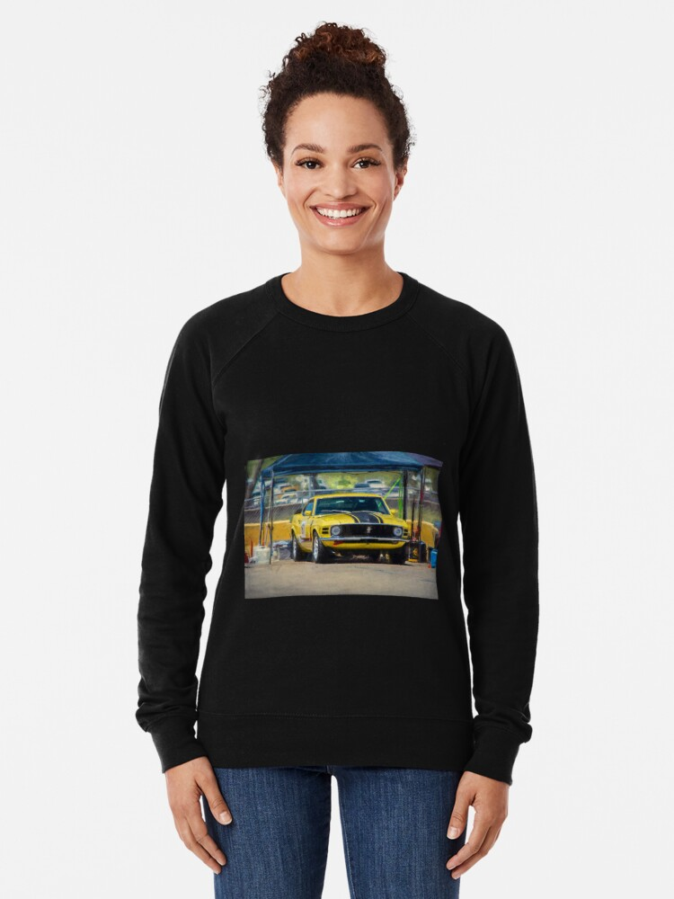 Alternate view of 1970 Mustang Lightweight Sweatshirt
