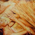 'Solace' 122 cm x 184 cm    Acrylic on Stretched Canvas by Warren Haney