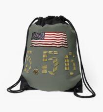 American 5.56 pride Drawstring Bag