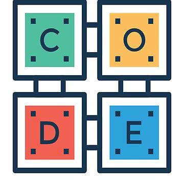 T-Shirt for Programmers : Born To Code Design Developer Shirt by tshirtfandom