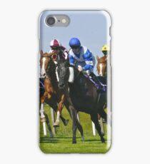 horse racing iPhone Case/Skin