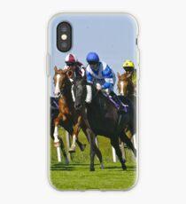 horse racing iPhone Case