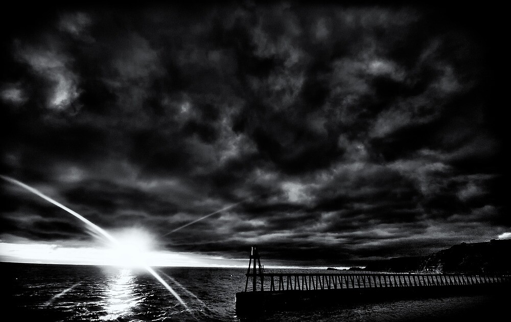 Whitby Pier - 6am by Rory Garforth