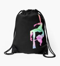 Aerialist - Aerial silk Drawstring Bag