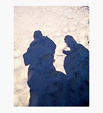Sandy Shadows Photographic Print