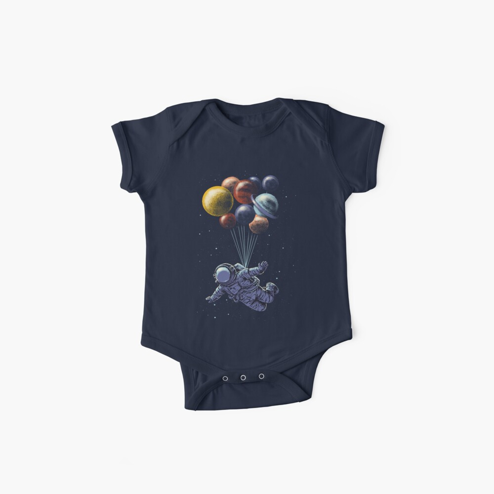 Space Travel Baby One-Pieces