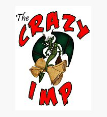 The Crazy Imp Photographic Print