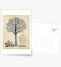 Winnie the Pooh - du bist mutiger Postkarten