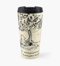 Winnie the Pooh - How do you spell love? Travel Mug