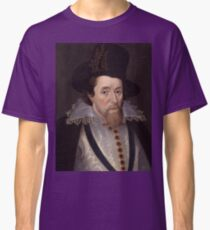 King James VI & I of Scotland and England Classic T-Shirt
