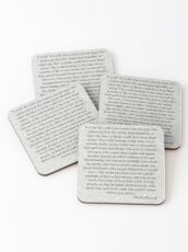 The Man In The Arena by Theodore Roosevelt Coasters