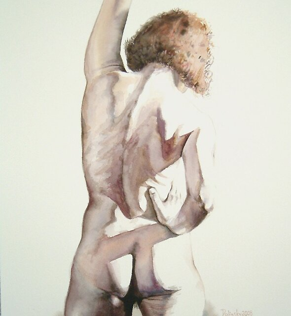 Watercolor, Karen 1 by Nudessence
