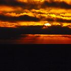 Sunset Gulf of Alaska by John Schneider