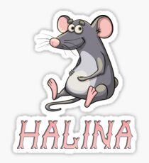 Halina Sticker Sticker