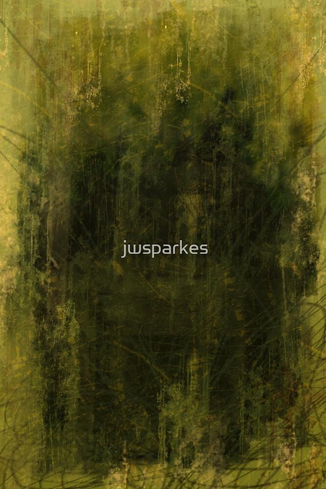 green grunge digital illustration by jwsparkes