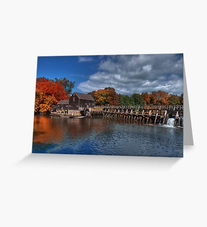 Mill - Sleepy Hollow Greeting Card