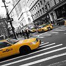 One Way - New York Cabs by mattslinn