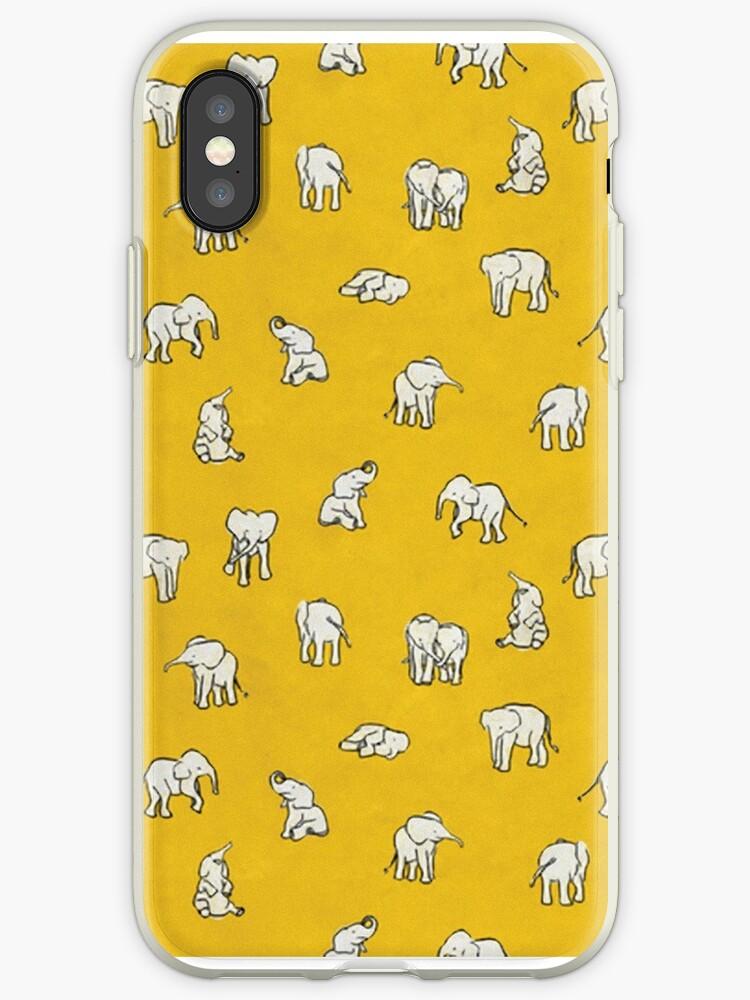 «Elefantes en amarillo» de chiara-m