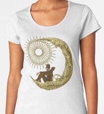 Moon Travel Women's Premium T-Shirt