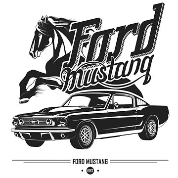 Ford Mustang 1967 by maximgertsen