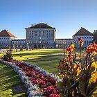Germany. Munich. Nymphenburg Palace. Irises. by vadim19