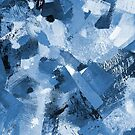 Blue Mountain Ascent Painting-Print by Jenny Meehan