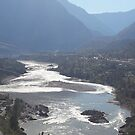 River Flows By Lillooet by Kevin M  Klerks