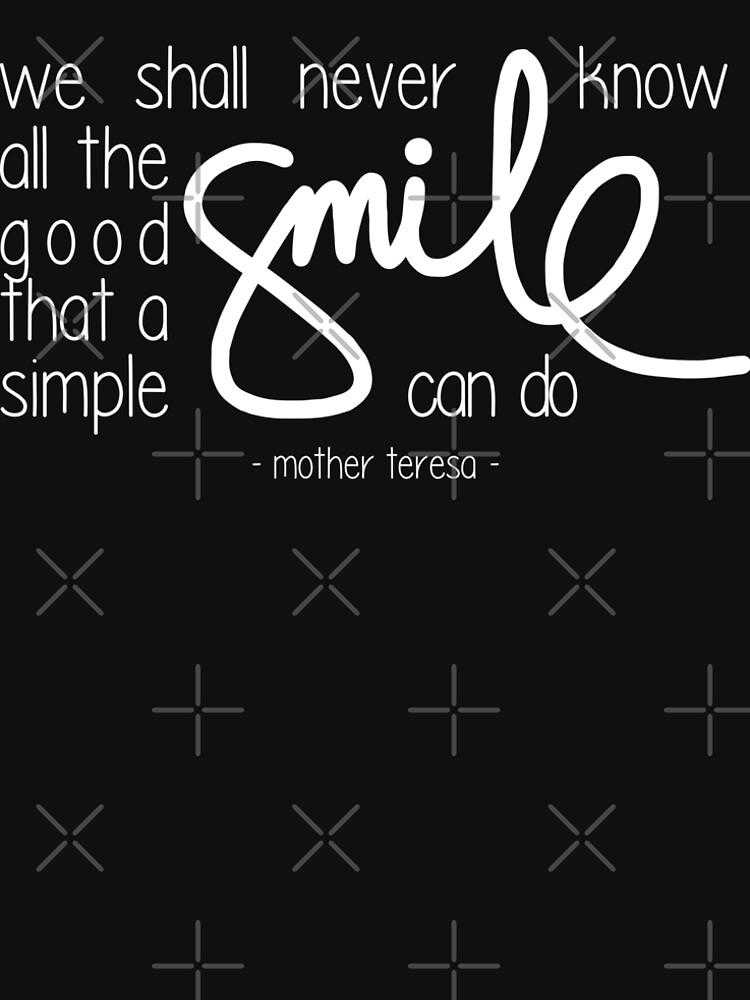 A simple smile (dark) by twgcrazy