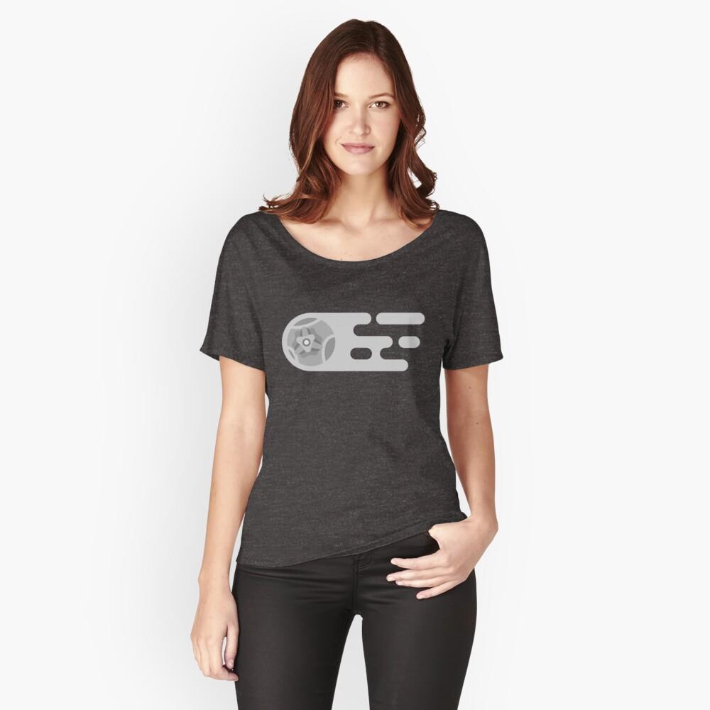 Liga de cohete monocromática Camiseta ancha